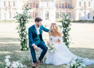 A Literary Themed Wedding Between Two Book Lovers