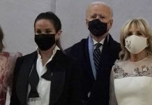Ashley Biden Wears Tux For Inauguration Celebration | Photos