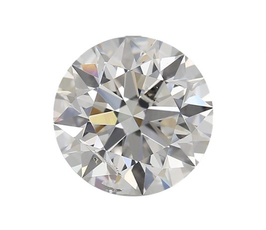 I1 diamond featuring a small visible clarity characteristic or inclusions