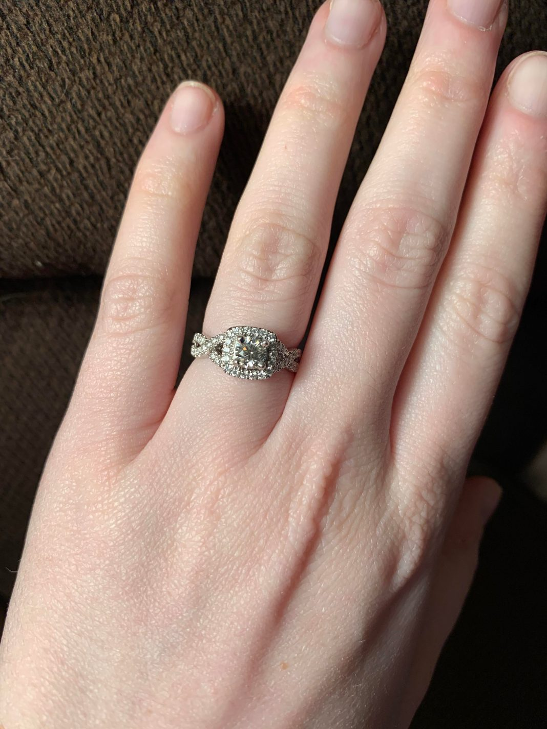My New Years Day Ring❤️ So excited and shocked!