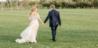 Rustic Autumn Elopement in an Apple Orchard
