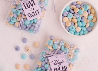 6 Valentine's Day Treat Ideas You Can Mail With M&M's ⋆ Ruffled