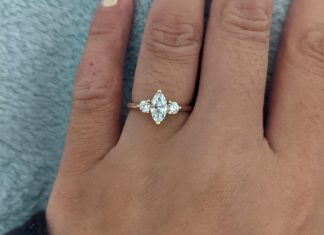 Finally got my ring after being engaged for 2 years!