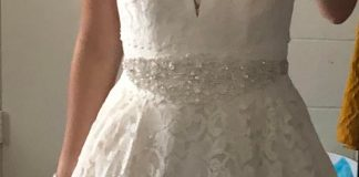 Dress regret?? I got this dress in December 2019 but wedding was postponed twice. I still need to get it altered because there's too much space on the chest lol and I've also been trying to gain weight so I will look better. IT HAS POCKETS btw. Idk I've been thinking of getting a different dress.