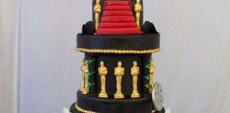 Oscars / Hollywood Themed Cake