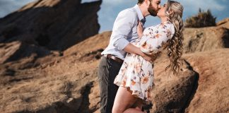 Vasquez Rocks Engagement Session | Jake & Katelyn