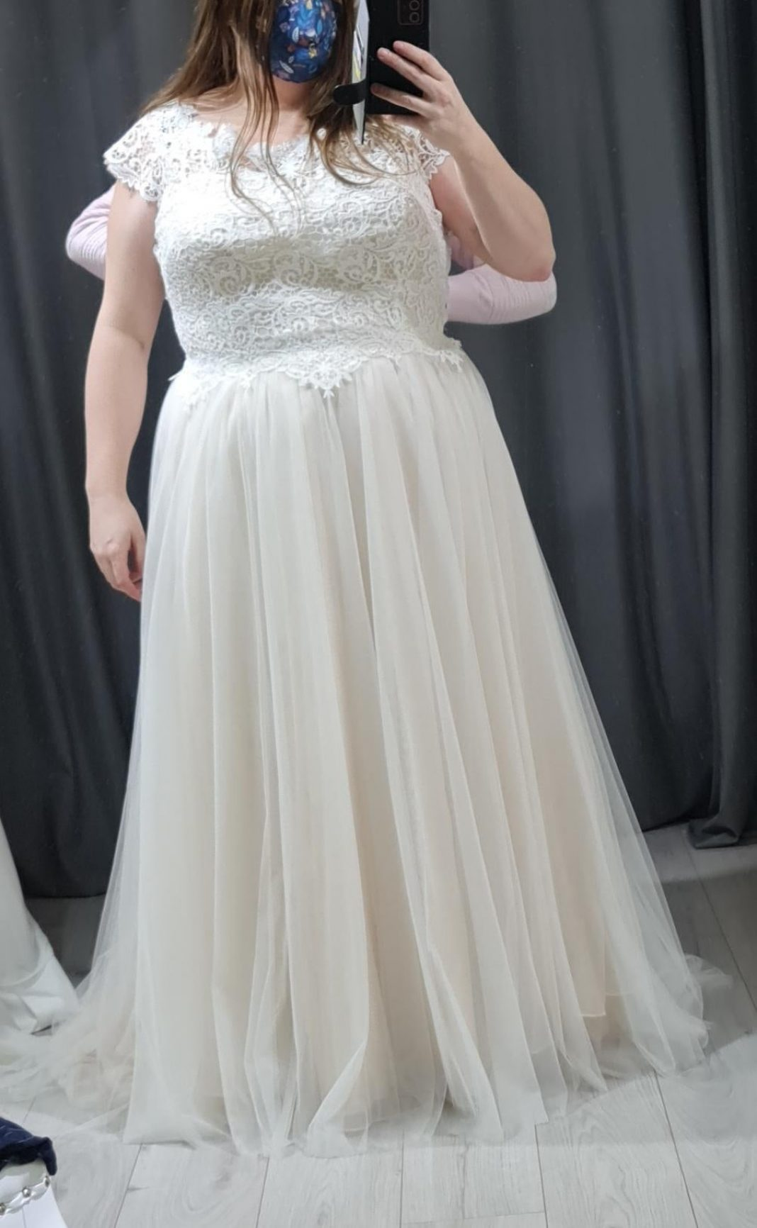 Cancelled wedding in 2020, decided last week to go ahead and get married in July this year. Found this dress and fell in love, can't wait to see it fitted properly. Dying to show the husband to be, so i'll just show it off here instead.