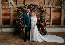Magical DIY Autumn Wedding With All The Cosy Vibes