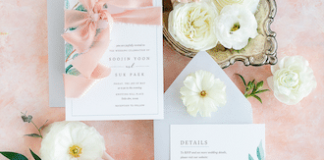Matching Your Color Palette to Your Invite + Tips For Working With A Calligrapher