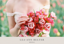 Tulip Farm Wedding Dress Editorial