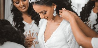 Bride planning a wedding when she's a student